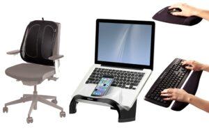 Accesorios que mejoran la ergonomía